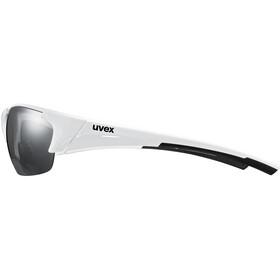 UVEX Blaze III Okulary, white black/silver